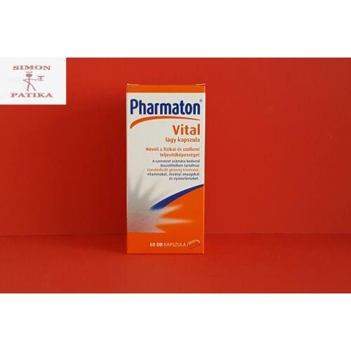 Pharmaton Vital lágy kapszula 60db