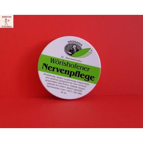 Wörishofeni Nervenpflege Nyugtató tabletta  60db