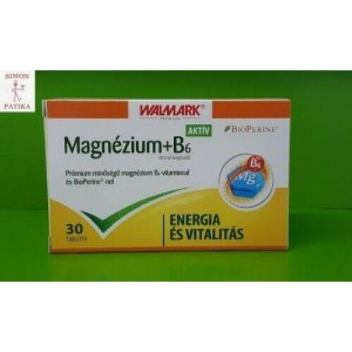 Walmark Aktív Magnézium +B6 tabletta 30x