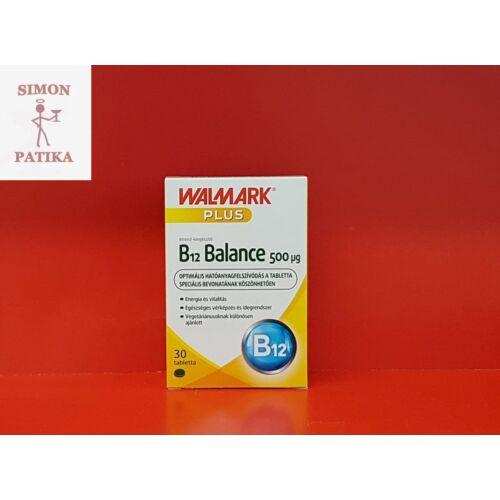 Walmark B12 Balance 500 mcg tabletta 30db