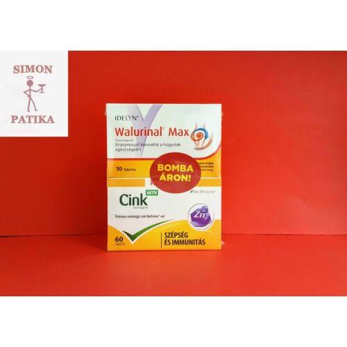 Walmark Idelyn Walurinal Max+ Cink Aktív tabletta