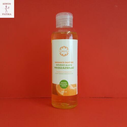 Yamuna masszázsolaj narancs-fahéj 250ml