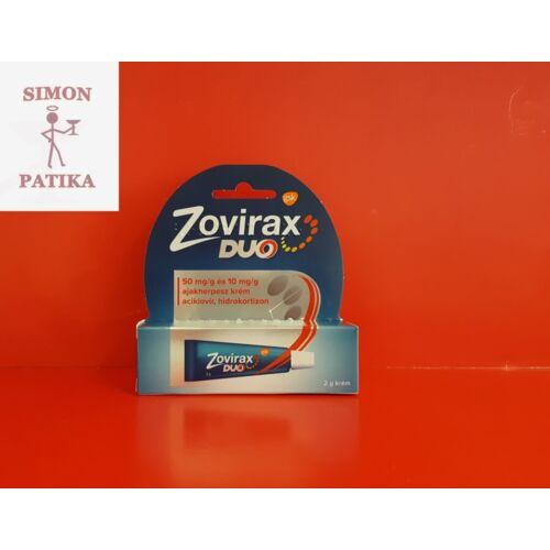 Zovirax Duo krém ajakherpeszre